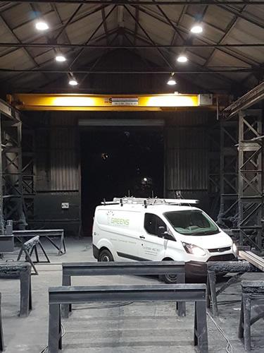 commercial electricians swansea
